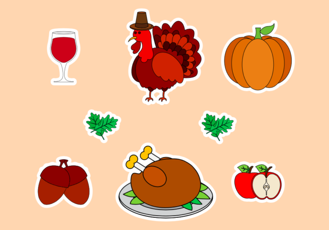 Free Thanksgiving Icons