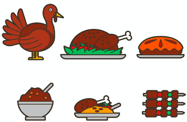 Thanksgiving Icons you can download for free