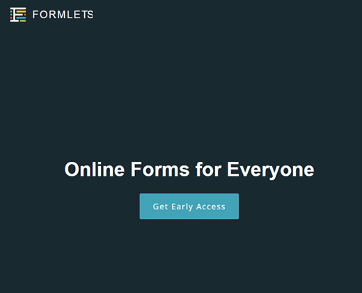 formlets online forms design website