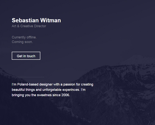creative designer freelancer sebastian witman