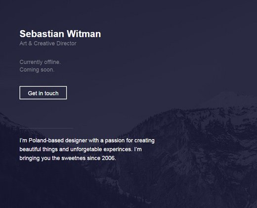 creative designer freelancer sebastian witman
