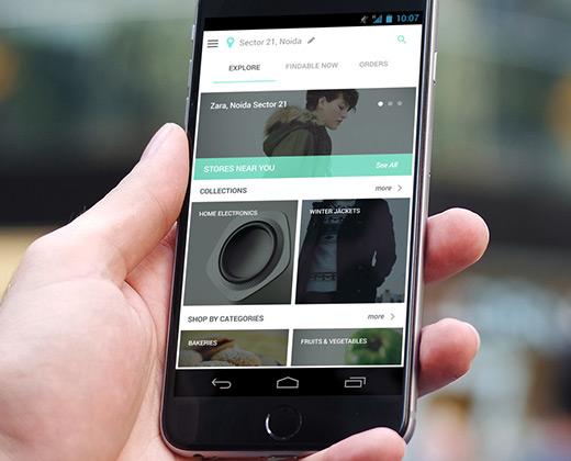 explore screen android app ui