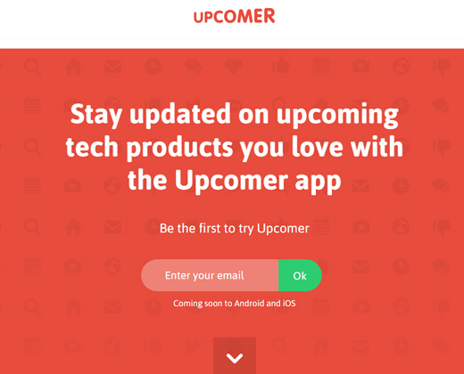 upcomer flat layout design