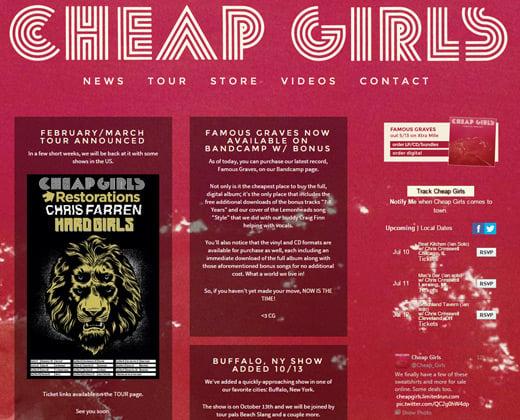 cheap girls band pink website