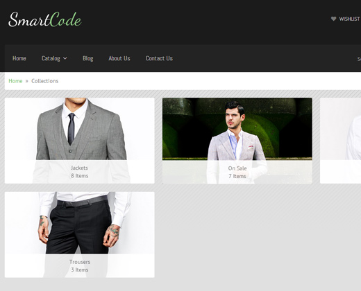 smartcode responsive shopify shopping layout