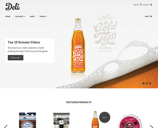 blockshop deli premium website shopify theme