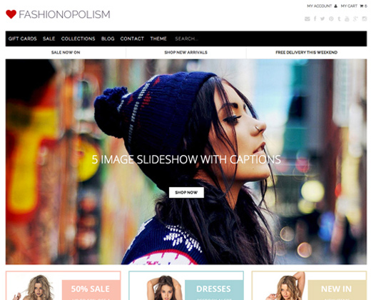 Best Premium Shopify Themes For Ecommerce Web Shops Bittbox - Shopify design templates