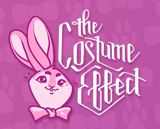 costume effect typography logo