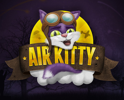 air kitty texture logo