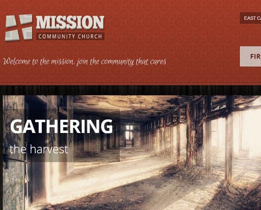 mission crowdfunding church premium theme