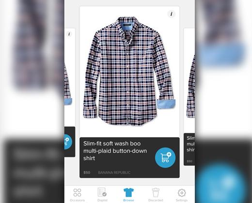 shopping app redesign ui