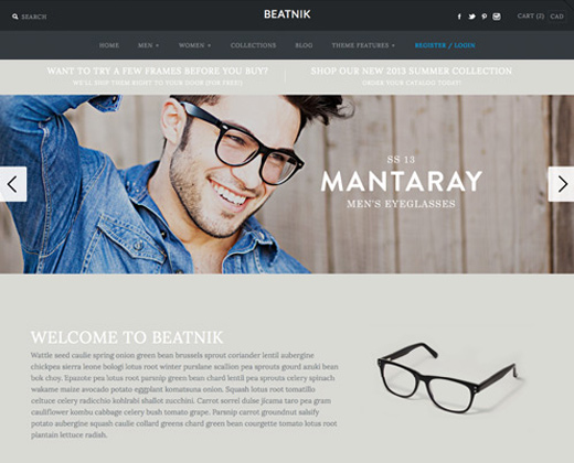 symmetry beatnik responsive premium shopify theme creative