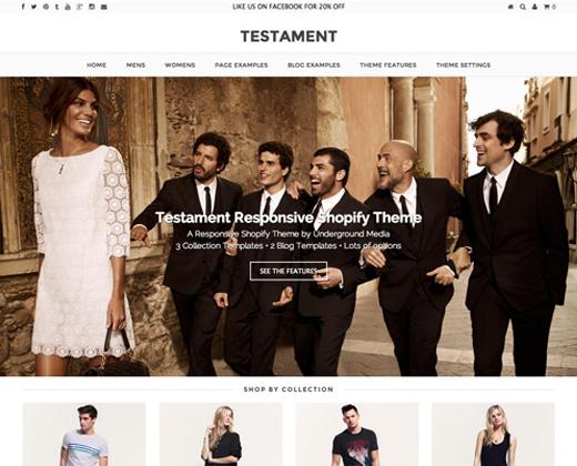 testament genesis premium shopify classy theme eshop