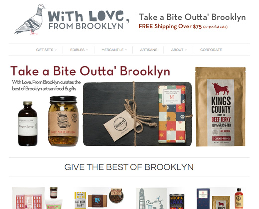with love from brooklyn nyc website shopify