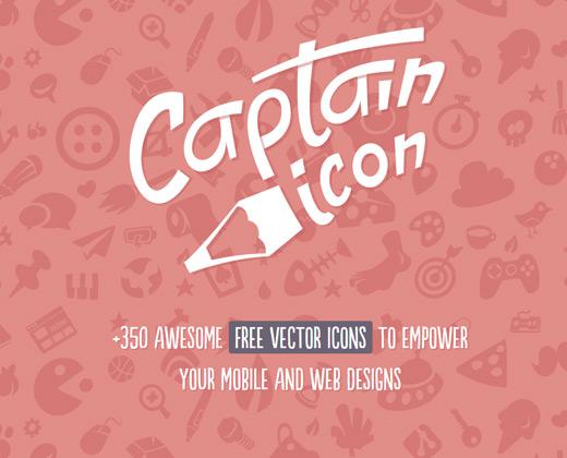 captain icon free iconset