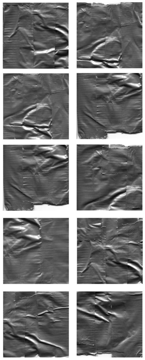 Duct Tape brush samples image
