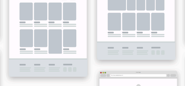 Ecommerce Wireframe Template