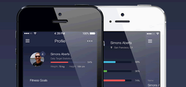 Fitness App Ui Kit