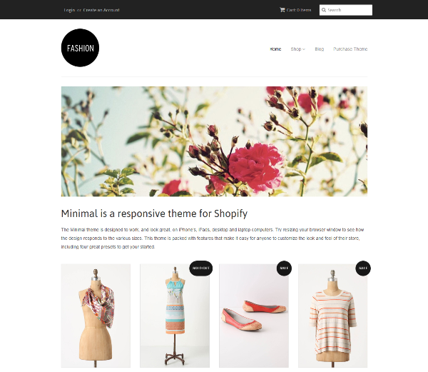 Free Shopify ECommerce Website Templates - Shopify design templates
