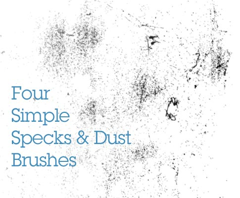 Freebie Friday 4 Simple Specks And Dust Brushes Bittbox