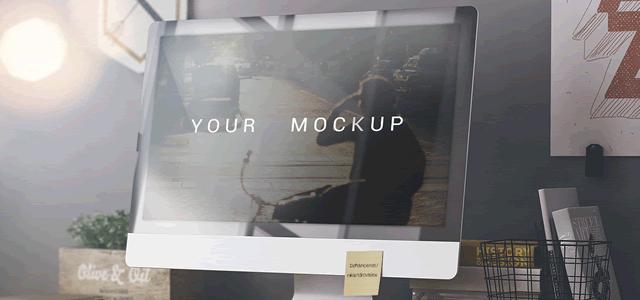 Web Mockup Template