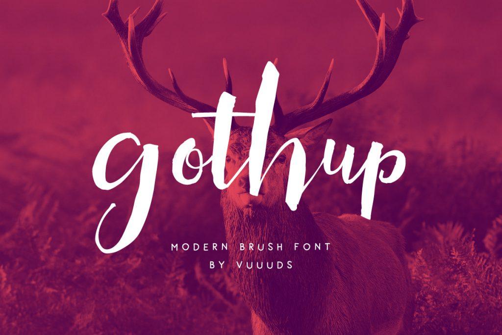 gothup-font