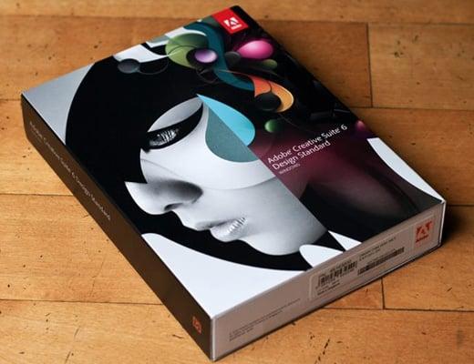 adobe creative suite 6 design standard box
