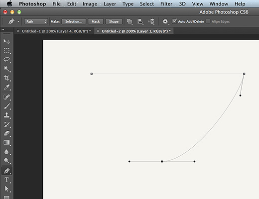 bezier handles photoshop guide tips