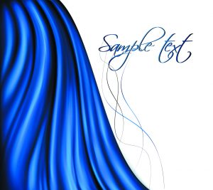 Free Blue Swirl Background Vector