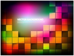 Boxy Background Vector