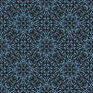 Free Vector Blue Damask Background Pattern
