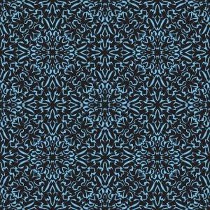 Free Vector Blue Damask Background Pattern