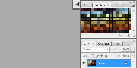 featured image - custom swatch palette in photoshop