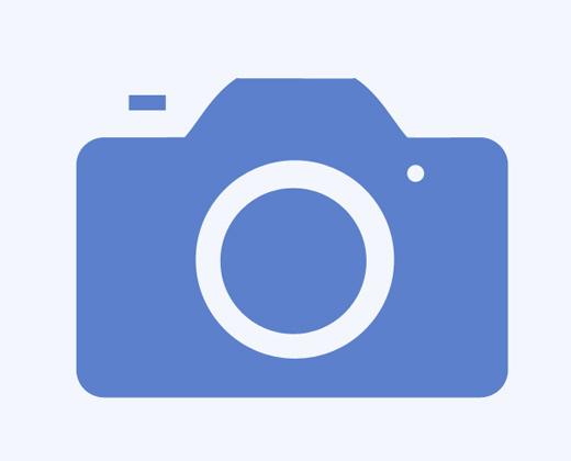 ios camera icon trace path shape