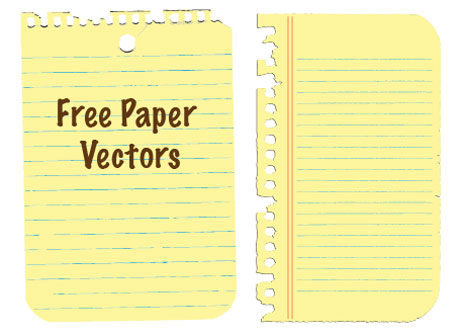 Free Vectors: Paper/Notepads - Bittbox