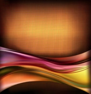 Light Wave Background Free Vector