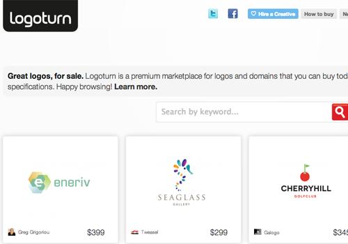 logoturn screenshot demo live inspiraiton logos