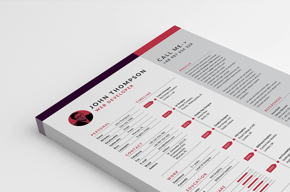free-resume-template-1