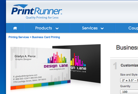 Official PrintRunner.com website freebie giveaway