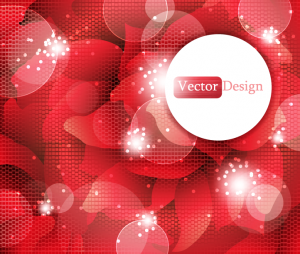 Free Red Sparkle Background Vector