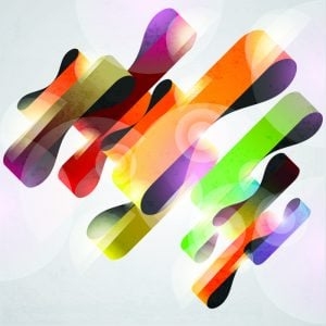 Free Colorful Ribbon Background Vectors